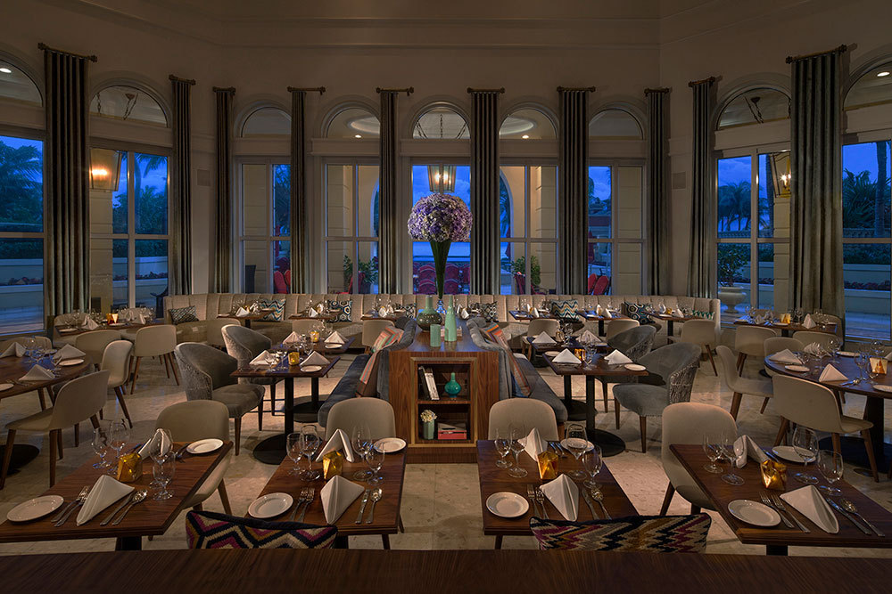 The Chophouse restaurant at Acqualina Resort & Spa in Miami, Florida, United States