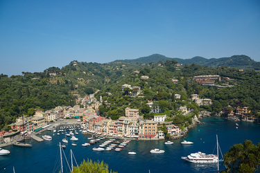 The Aerial View at Belmond Hotel Splendido in Italian Riviera, Italy