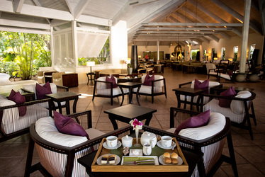 Afternoon Tea at Carlisle Bay in Antigua, Caribbean