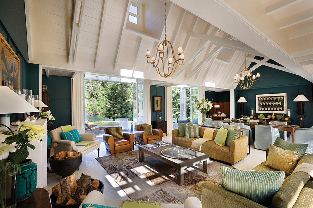 The Alan Pye Cottage at Huka Lodge in Taupo, New Zealand