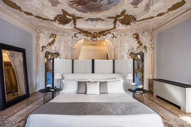 The Alcovo Tiepolo Suite at Aman Venice in Venice, Italy