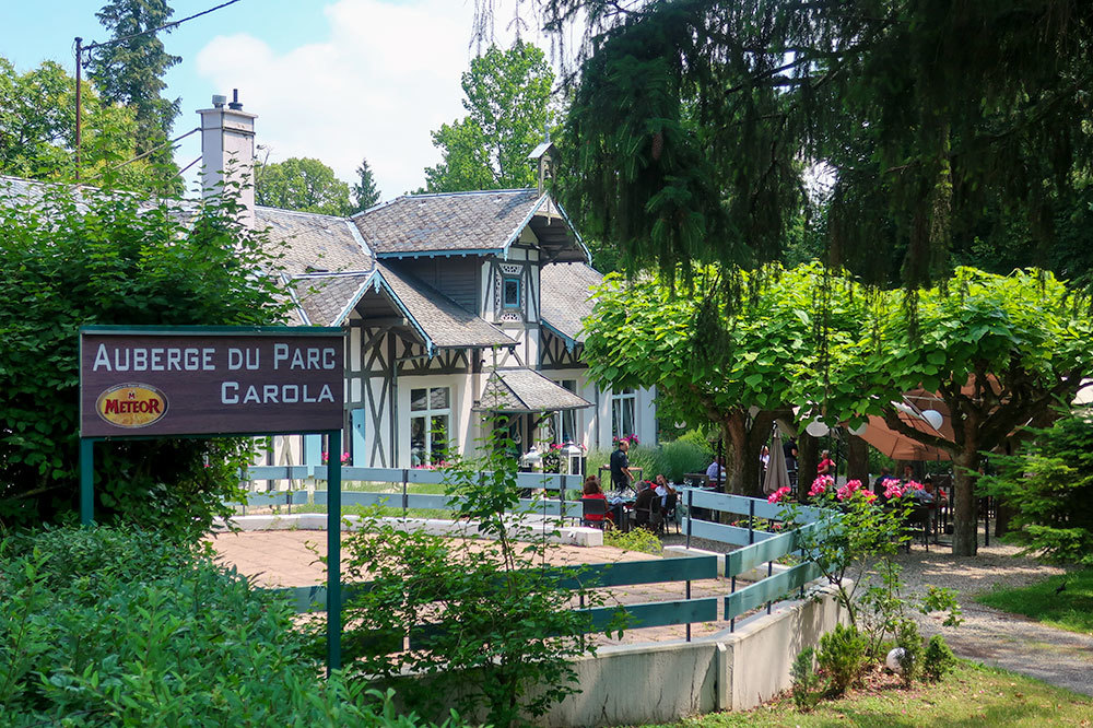 Auberge du Parc Carola in Ribeauvillé, France - Photo by Hideaway Report editor