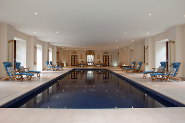The pool at Ballyfin Demesne in Ballyfin, Ireland