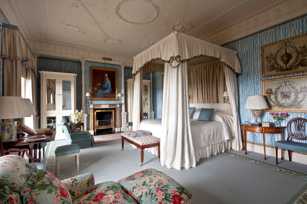 The Lady Caroline Coote room at Ballyfin Demesne in Ballyfin, Ireland