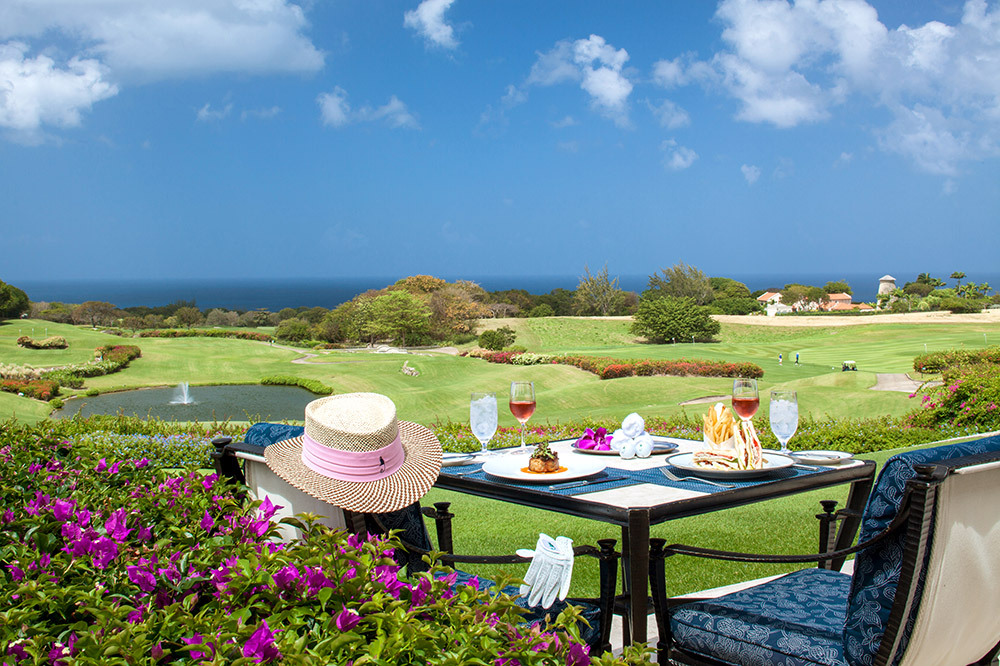 The Country Club lunch at Sandy Lane in Barbados