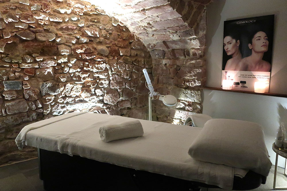 The spa at 5 Terres Hôtel and Spa in Barr, France