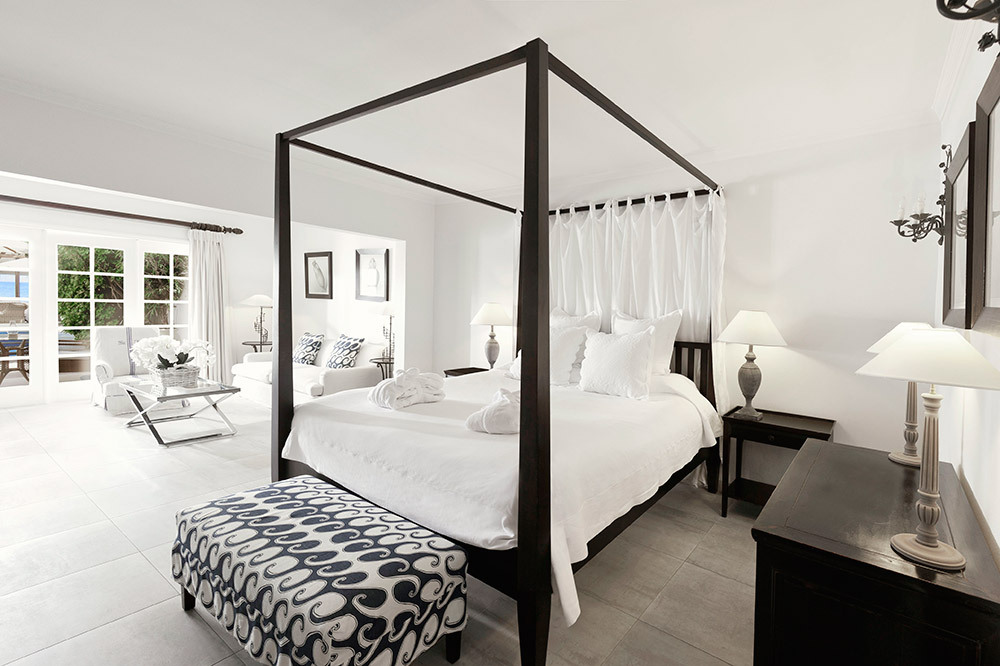 Cheval Blanc St-Barth Isle De France suite bedroom