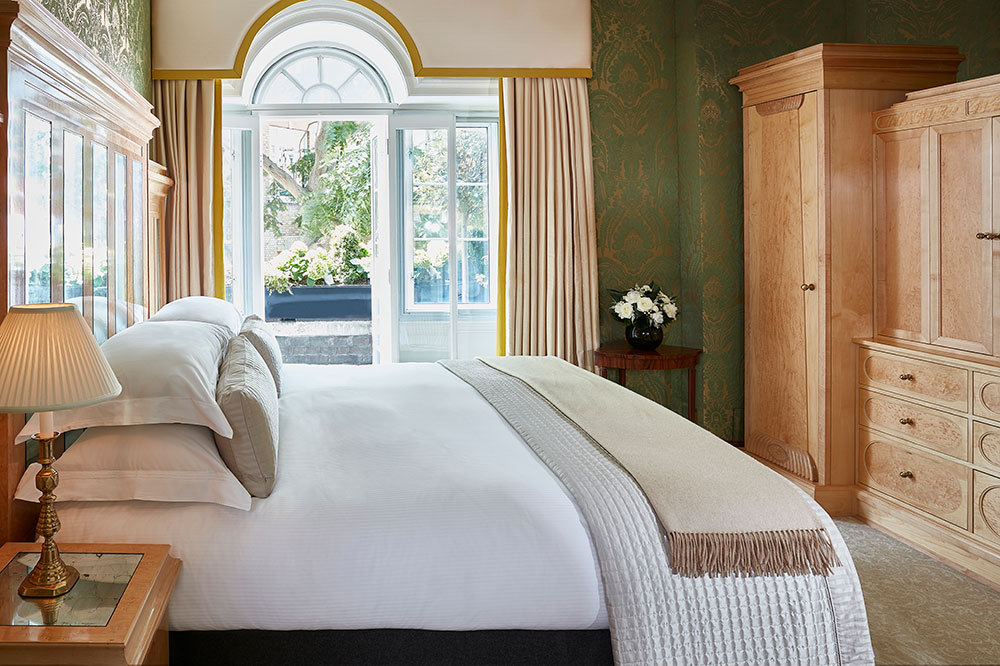 The Belgravia Suite Bedroom at The Goring Hotel in London, England
