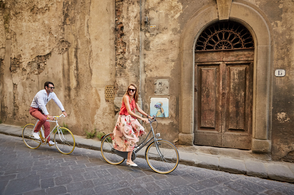 Biking at Belmond Villa San Michele in Florence, Italy