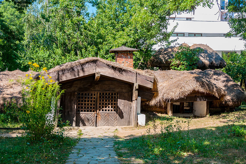 The Dimitrie Gusti National Village Museum in Bucharest, Romania