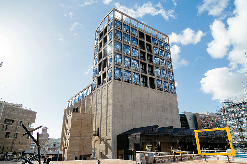 The Zeitz Museum of Contemporary Art Africa in Cape Town