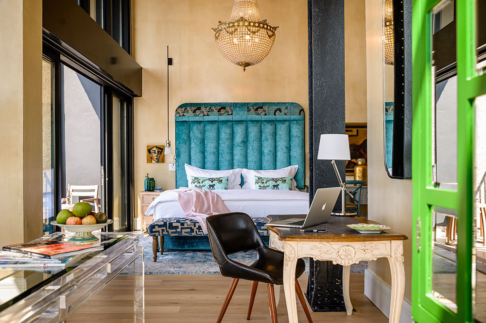 The Deluxe Superior Suite at The Silo in Cape Town, South Africa