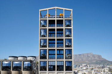 The exterior of The Silo in Cape Town, South Africa