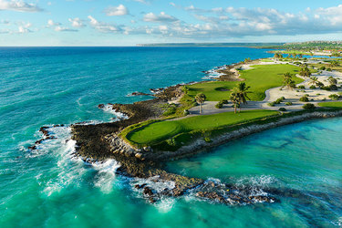 The Punta Espada golf course at Eden Roc at Cap Cana