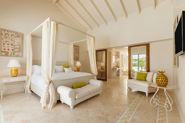 The Two Bedroom Family master suite at Eden Roc at Cap Cana