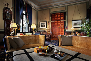 Cigar Lounge at Hotel Des Indes a Luxury Collection Hotel in The Hauge, Netherlands
