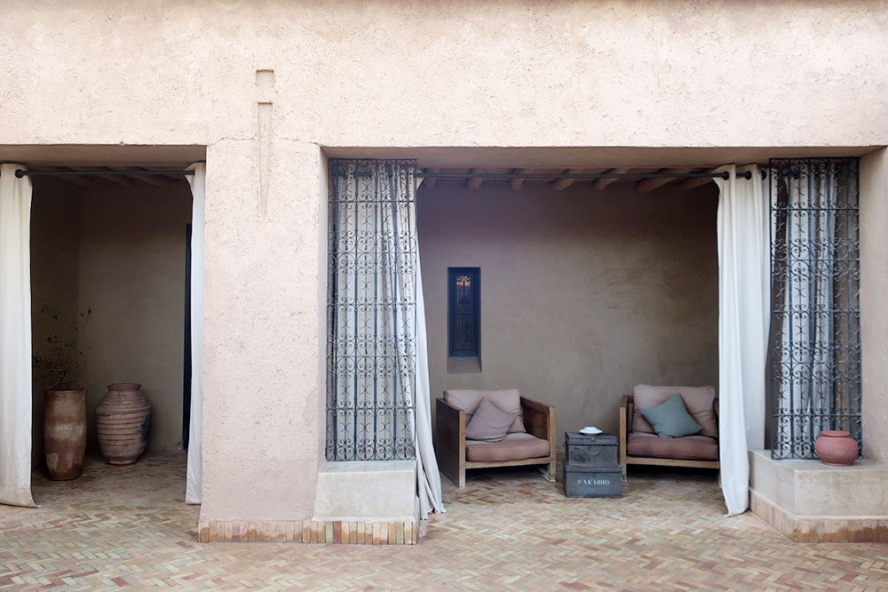 The exterior of the Superior Suite at Dar Ahlam in Skoura, Morocco