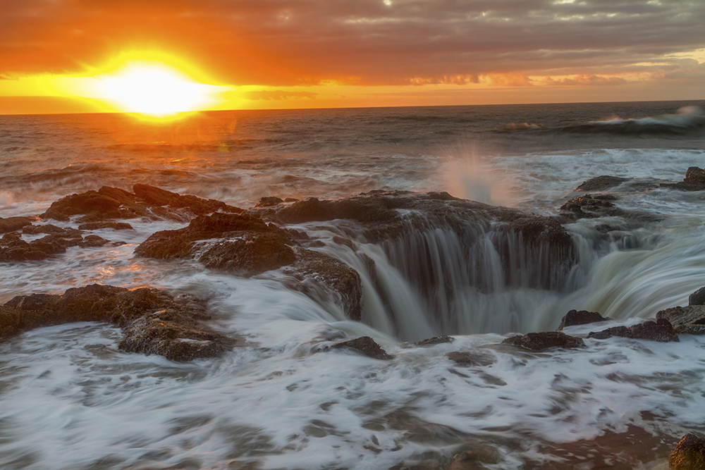 Thor's Well at Cape Perpetua