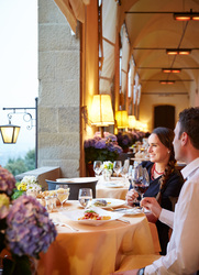 Dining at Belmond Villa San Michele in Florence, Italy