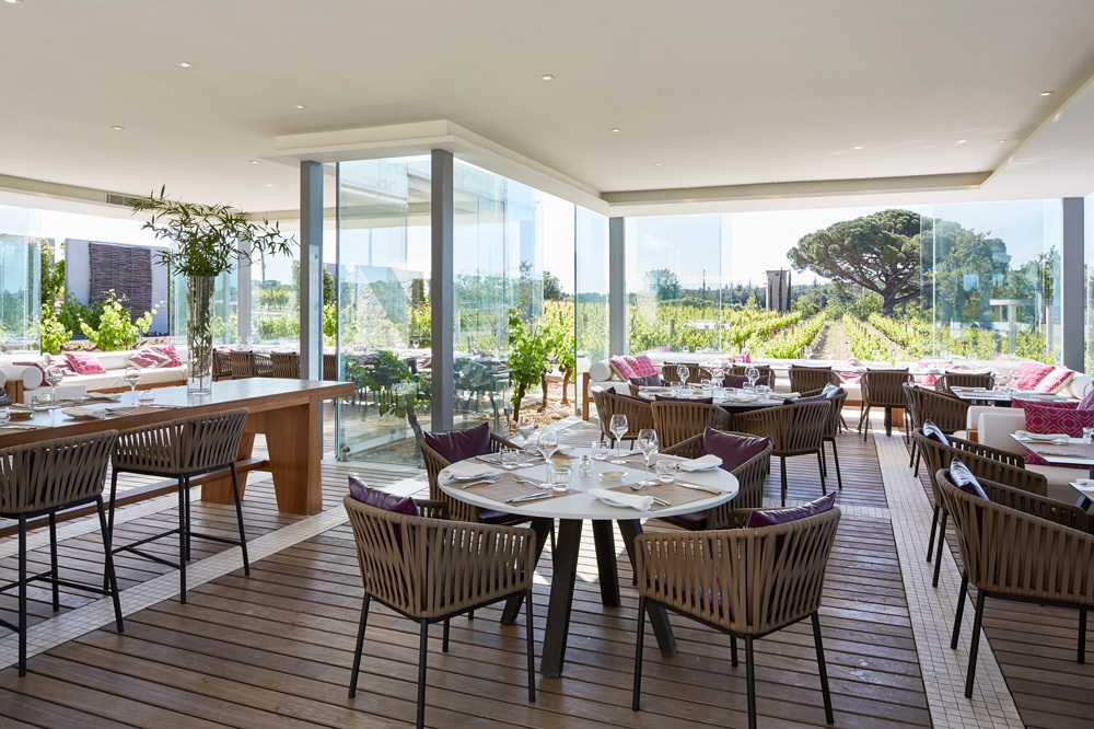 The Dining Room at Domaine De Verchant in Languedoc-Roussillon, France
