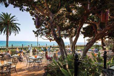 Biltmore Four Seasons Santa Barbara Dining Room