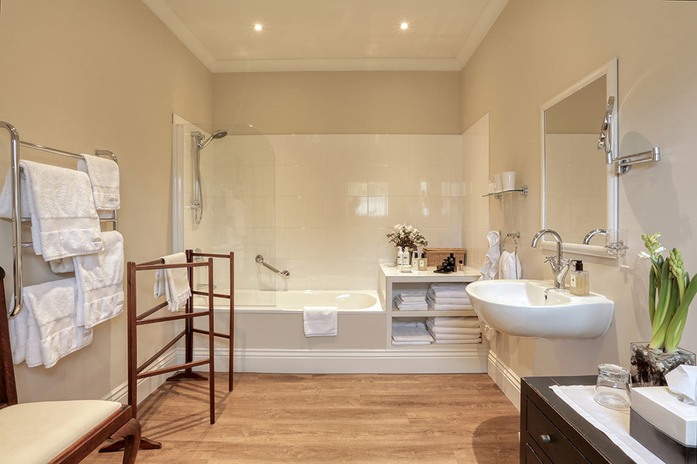 The bath in the Edenhouse Suite at Edenhouse in Nelson, New Zealand