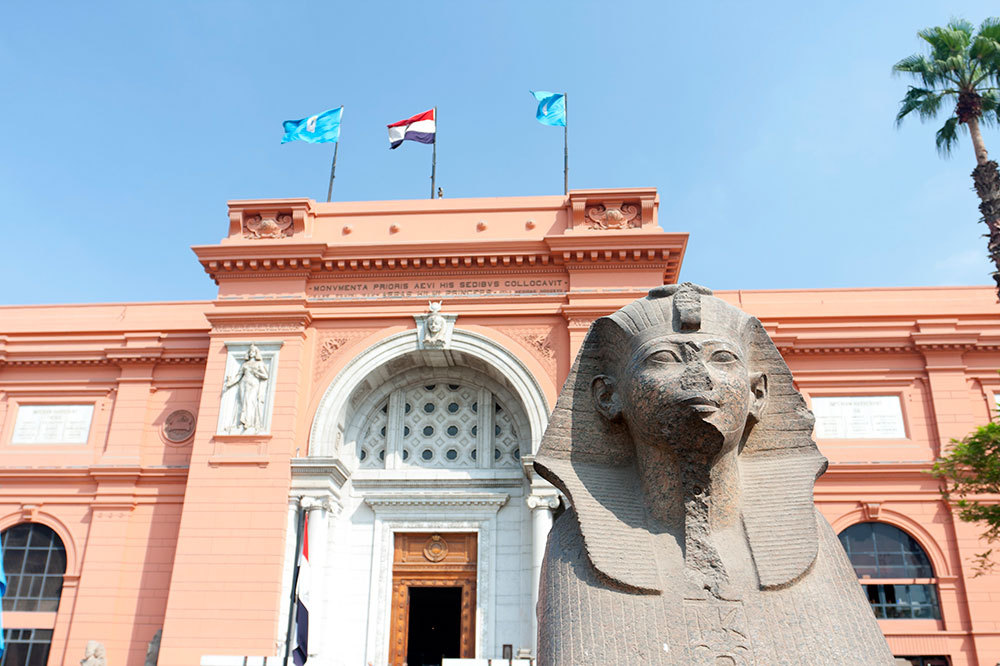 Egyptian Museum of Antiquities in Cairo, Egypt