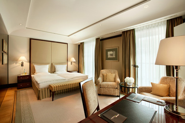 The Executive Room at Hotel Adlon Kempinski in Berlin, Germany