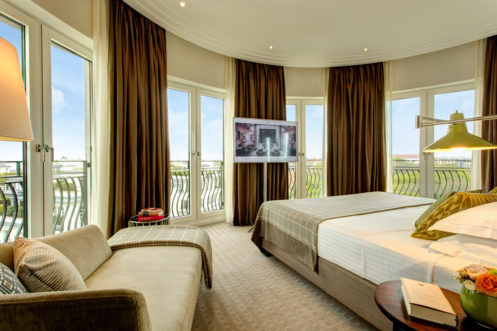 The Executive Suite View at The Charles Hotel in Munich, Germany