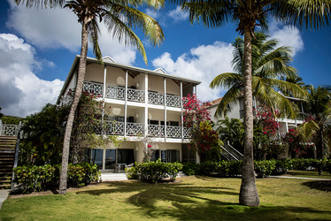 The Exterior View at Carlisle Bay in Antigua, Caribbean