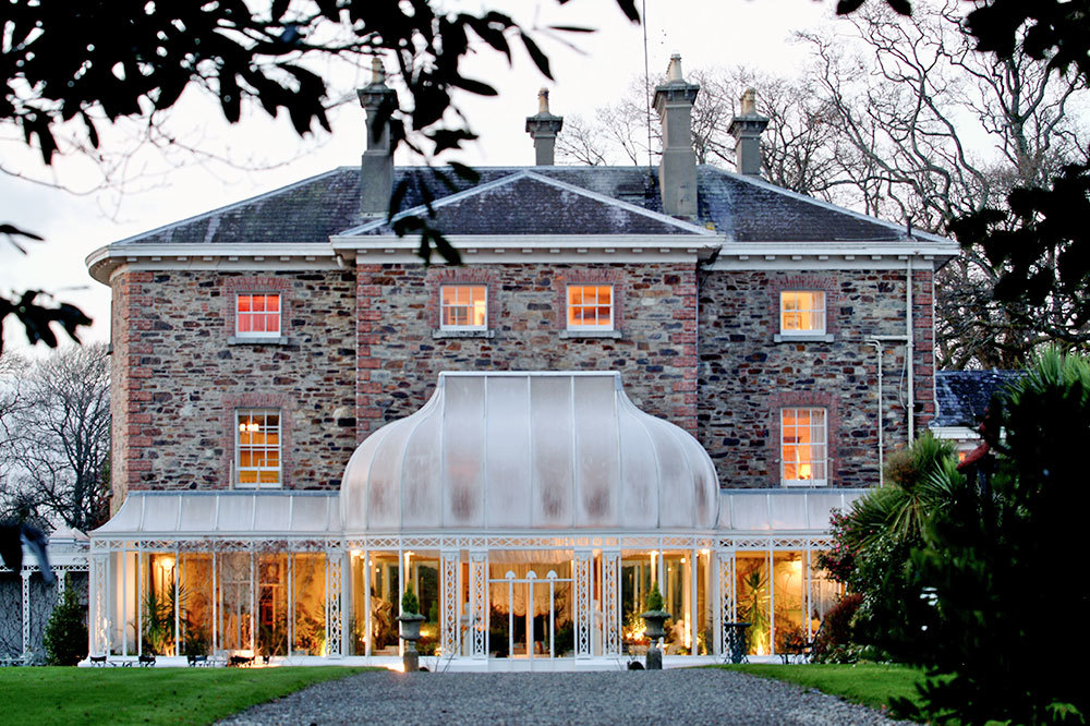 Exterior at Marlfield House in Gorey, Ireland