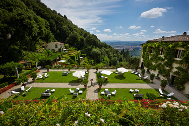The Exterior View at Belmond Villa San Michele in Florence, Italy