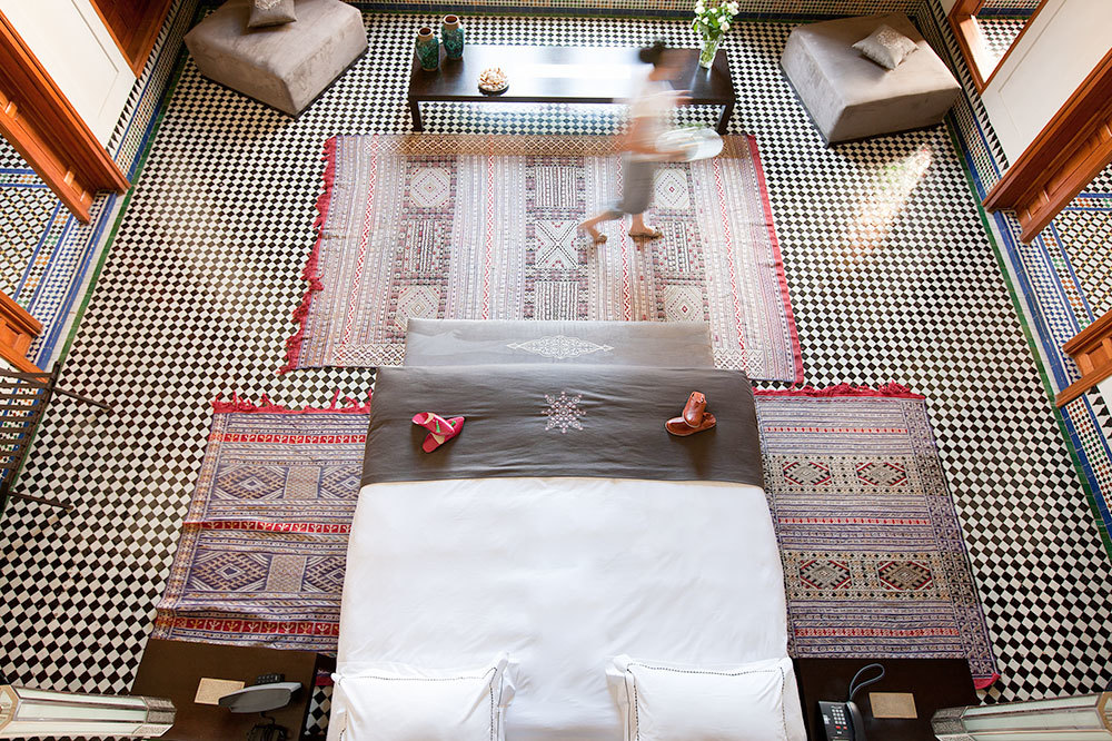The Grand Suite at Palais Amani Hotel in Fez, Morocco