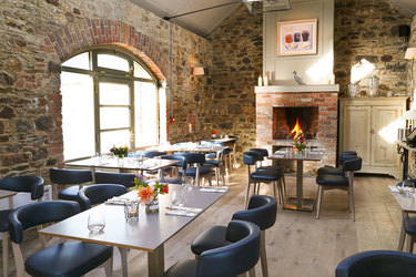 The Duck Terrace Restaurant at Marlfield House in Gorey, Ireland
