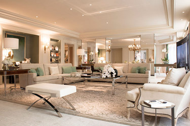 The Royal suite at Four Seasons Hotel George V Paris