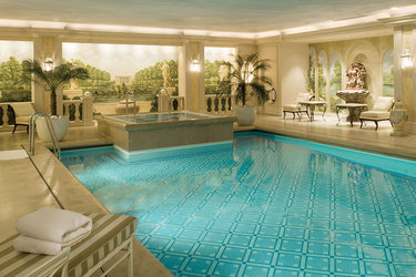 Pool at Four Seasons Hotel George V Paris
