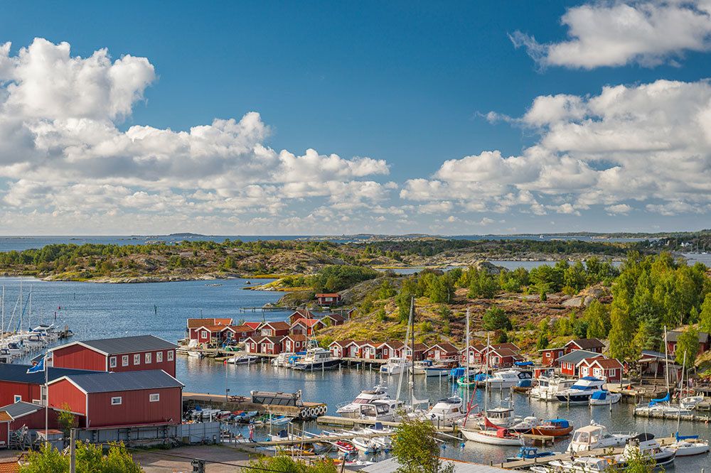 The southern archipelago in Gothenburg