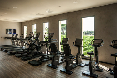 The Gym at Domaine De Verchant in Languedoc-Roussillon, France