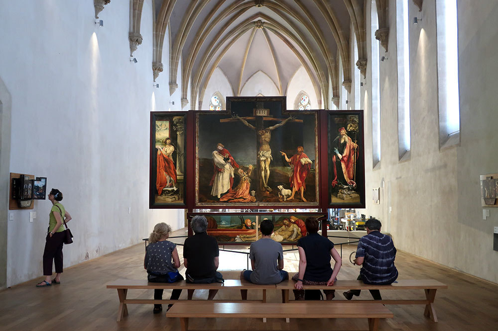 "The ""Isenheim Altarpiece"" at the Unterlinden Museum in Colmar, France"