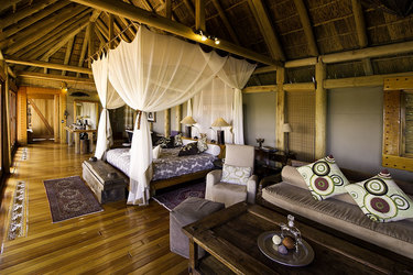 Luxurious Camp Suite at Jao Camp in Botswana, Africa