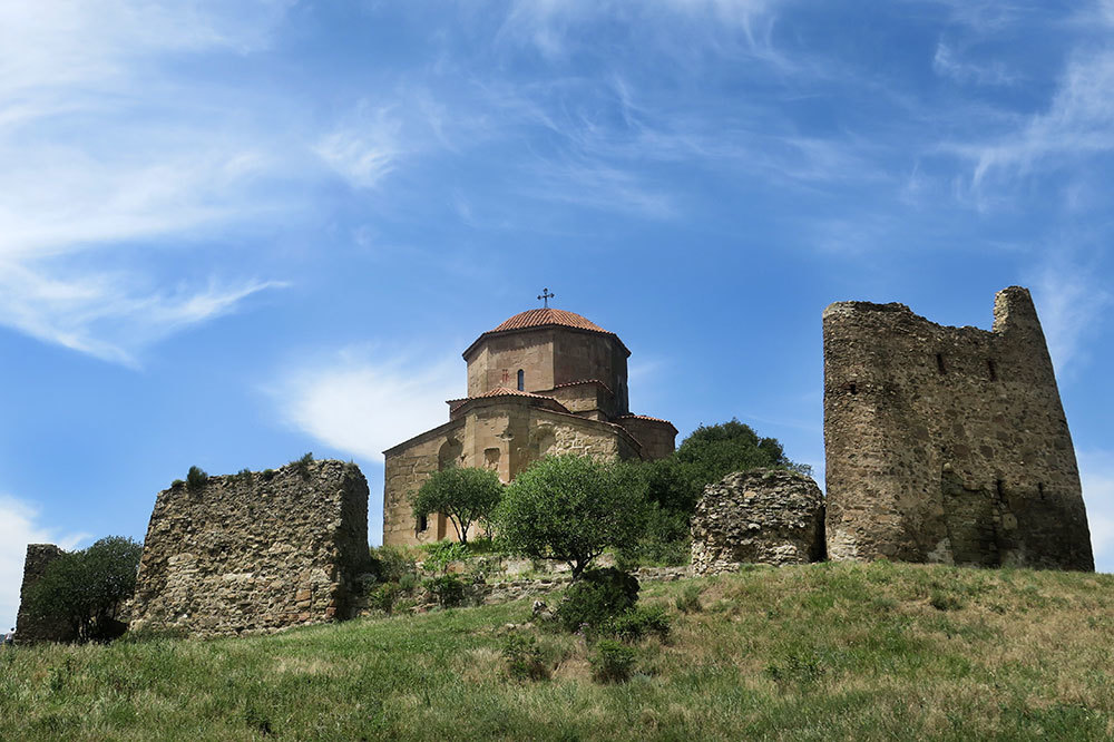 The Jvari Monastery in Mtskheta, Georgia