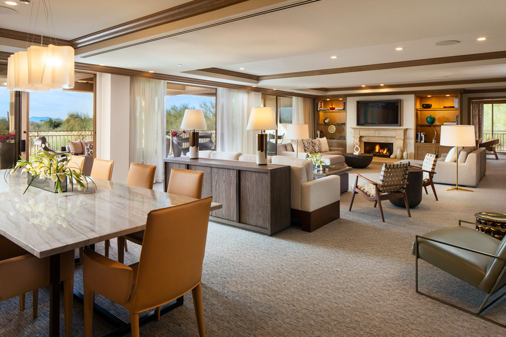 The Canyon Suites At The Phoenician Luxury Hotel In