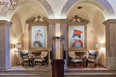 The Lobby at Belmond Villa San Michele in Florence, Italy