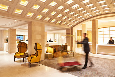 The Lobby at Hotel Adlon Kempinski in Berlin, Germany