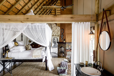 Singita Ebony Lodge bedroom