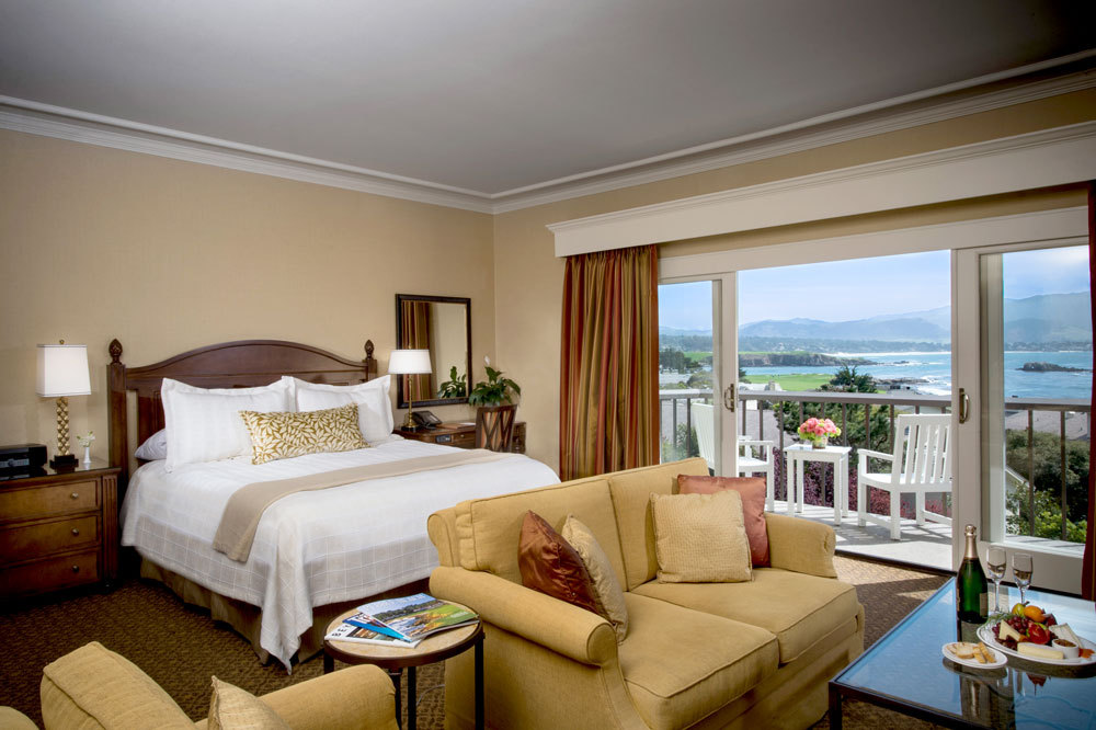 Partial Ocean View Room at The Lodge at Pebble Beach