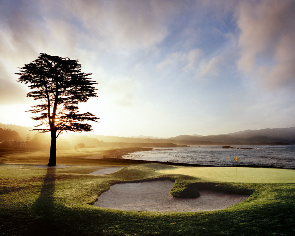Pebble Beach Golf Links Hole No. 18