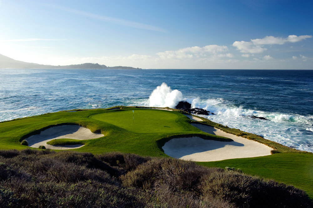 Pebble Beach Golf Links Hole No. 7