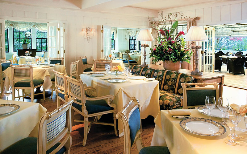 Topper's, the restaurant at The Wauwinet in Nantucket, Massachusetts