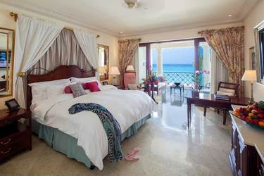 Luxury Ocean Room at Sandy Lane in Barbados